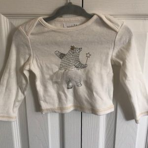 Mud pie, 6-9 months shirt and ruffle pants